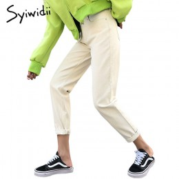 Bawełna biały dżinsy dla kobiet wysokiej talii Harem mama dżinsy Plus rozmiar niebo niebieskie spodnie czarny moda dla kobiet dż
