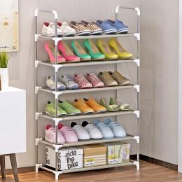 4/5/6-Tier Shoes stojaki półka duża szafka na buty do układania w stos półki półki na książki do butów przechowywanie w domu Org