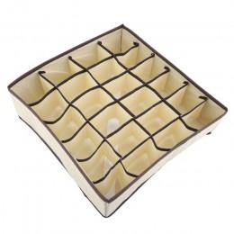Przenośny składany trwały dzielnik schowek Case pojemnik na biustonosz bielizna SockCloset Organizer Ropa Interior Organizador