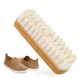 Nowa szczotka do czyszczenia nubuku wytrzymała szczotka do krepy śniegowe buty zamszowe do skórzanych butów odzież do pielęgnacj