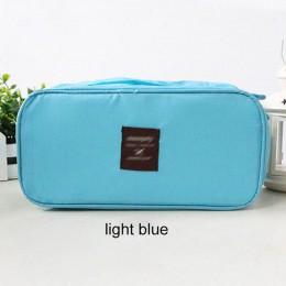 Bielizna biustonosz torba Organizer kosmetyczki wodoodporne pudełko na podróż pakiet do mycia organizator przyborów toaletowych