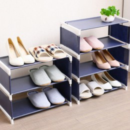 4 warstwy organizator na buty w formie regału wieszak stojący 3 wielowarstwowe wielofunkcyjne solidne półki pokój nowoczesna sza