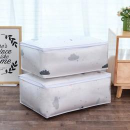 Torba do przechowywania kołdry kształt piór ubrania domowe kołdra poduszka pokrowiec na koc organizer do bagażu torba odzież sza