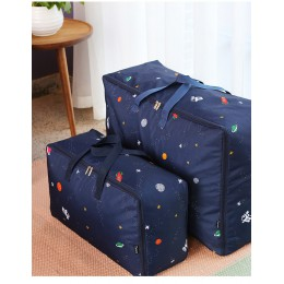 S M L XL torba do przechowywania Oxford na kołdry rozmaitości bagaż 1 sztuk trwała szafa organizator przenośne wilgotne szafa do