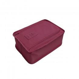 6 kolor podróży buty organizator etui do przechowywania łatwe torba na zamek błyskawiczny wodoodporna pralnia zestaw do przechow
