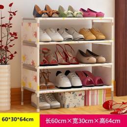 Przenośny 5/7/9 Tier półka na buty stojąca półka szafka korytarzowa Organizer drzwi szafka na buty półka DIY dom umeblowanie