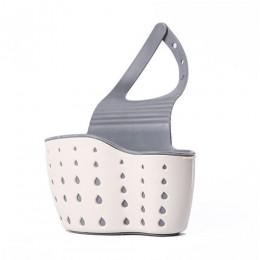 Zlew półka gąbka spustowy stojak silikonowy torba do przechowywania kosz kran uchwyt regulowany łazienka uchwyt zlew kuchenny ak