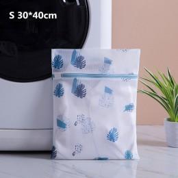 Drukowanie siatka poliestrowa worek na pranie do użytku domowego worki do prania zagęszczony cienki biustonosz netto bielizna wo