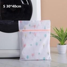 2019 New Arrival zapinana na zamek torba do prania składana siatka netto brudne ubrania skarpetki worki do prania przydatny Orga