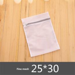 Szary zamek siatki kosmetyczki pralki dla gospodarstw domowych maszyna torba na pranie bielizna biustonosz skarpetki brudne ubra