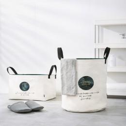 Kosz na pranie składane brudne ubrania duża pojemność przechowywania pudełko typu organizer pralnia fashion style YORO