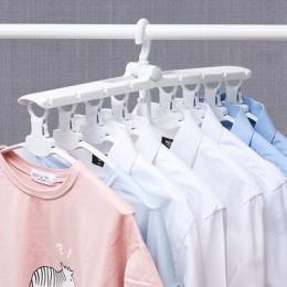 [8 rybi szkielet] VOZRO składany wieszak na ubrania suszarka do suszenia stojak na ubrania wieszaki na wieszak na bieliznę stoja