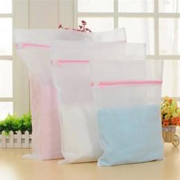 1 Pc pralka do odzieży pralnia biustonosz pomoc bielizna torba z siateczki do prania pokrowiec kosz Femme 3 rozmiary