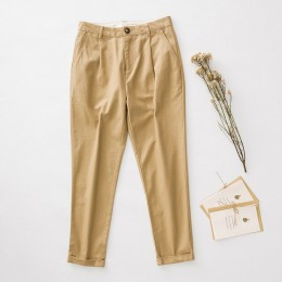 Metersbonwe Casual Harems spodnie dla kobiet długie spodnie Harems kobieta wysokiej jakości rozciągliwa talia biurowe spodnie da
