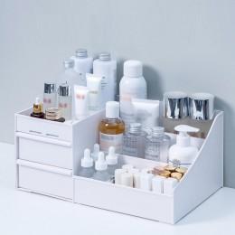 Organizator na przybory do makijażu do kosmetyków o dużej pojemności przechowywanie kosmetyków pudełko typu Organizer pulpit biż