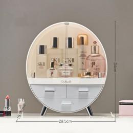 Strona główna moda szuflada pudełko na przybory do makijażu szczotka do łazienki etui na szminki pulpit biżuteria akrylowa kosme