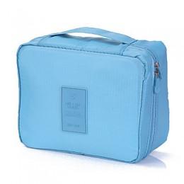 Wbboom hot-sprzedaż kosmetyczka torba podróżna organizator na przybory do makijażu Skincare etui na zamek do przechowywania torb