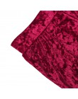 Viifaa szerokie nogawki wysokiej talii aksamitne spodnie flare rozciągliwe smukły streetwear spodnie damskie 2019 jesienne zimow