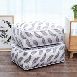 Moda hot 2018 artykuły domowe przechowywanie organizer na torby ubrania kołdra wykończenie woreczek pyłowy kołdry etui zmywalne