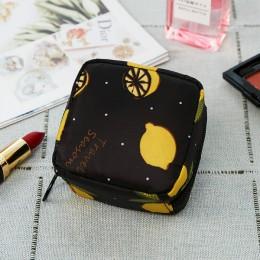Tampon worek do przechowywania podpaska higieniczna torebka damska serwetka kosmetyczny Organizer na torby damskie kosmetyczka d