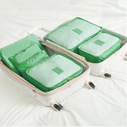 Gorąca sprzedaż organizator podróży zestaw toreb do przechowywania ubrania organizery pokrowiec walizka szafa domowa torby do pr