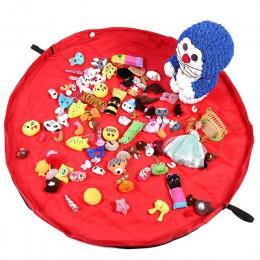 Nowy przenośny zabawki dla dzieci szybko worek do przechowywania i pad do grania zabawek Lego kieszeń belkowa moda praktyczne wo