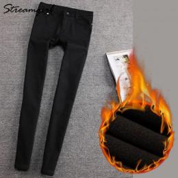 Ciepłe spodnie damskie grube spodnie zimowe damskie Plus Size ciepłe polarowe zimowe damskie spodnie damskie aksamitne damskie s