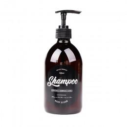 500ml brązowy szampon do kąpieli butelka do przechowywania tłuszczu skandynawski śliczny płyn do mycia ciała woreczki podróżne o