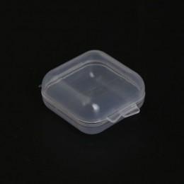 VIERUODIS Mini plastikowy pojemnik do przevhowywania małe części zatyczki do uszu twardy dysk moneta Pill naszyjnik przenośna oc