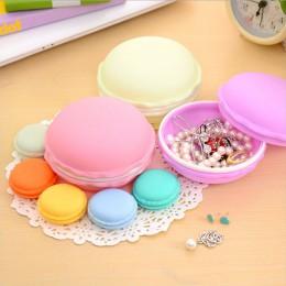 New Arrival koło słodkie makaronik Cookie projekt cukierki kolor Mini schowek pudełko z biżuterią