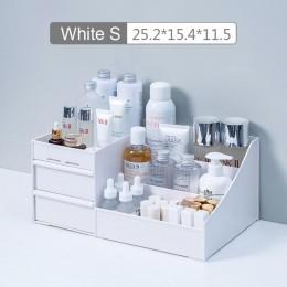 Pudełko do przechowywania kosmetyków makijaż o dużej wydajności szuflada organizator biżuteria polski paznokci pojemnik na kosme