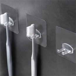 4 sztuk plastikowy uchwyt na szczoteczki do zębów stojak do przechowywania pasty do zębów maszynka do golenia szczotka do zębów