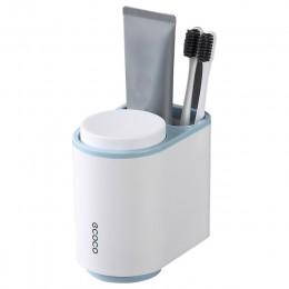 Ecoco uchwyt na szczoteczki do zębów do montażu naściennego pasta do zębów zestaw akcesoriów łazienkowych szczoteczka do zębów s