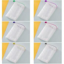 10 sztuk mydło siatka mydło pianka netto bańka siatkowa torba skóra czyste narzędzie dag-ship