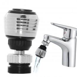1 sztuk oszczędzania wody kuchnia kran 2 tryby 360 stopni regulowany filtr wody dyfuzor reduktor przepływu wody kran złącze prys