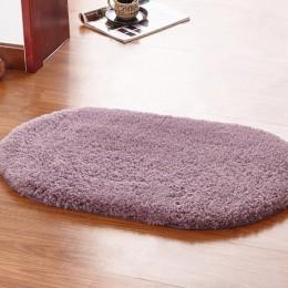 VORZO dywan do sypialni owalny salon wanna wc Douche Mat dywanik łazienkowy kuchnia Badkamer akcesoria Tapetes Badmat Banheiro