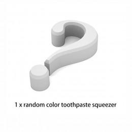BAISPO 2 sztuk/zestaw Rolling pasta do zębów dozownik Tube Partner Sucker wiszące stojak do przechowywania pasty do zębów łazien