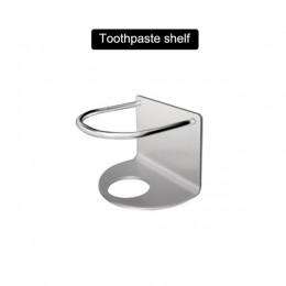 Uchwyt na szczoteczki do zębów przechowywanie stojak ze stali nierdzewnej wiszące na ścianie regulowany do łazienki TN88