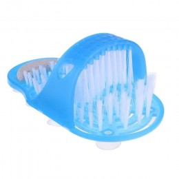 Plastikowe buty do kąpieli usuń martwa skóra masaż pantofel narzędzia do pielęgnacji stóp Scrubber z pędzlem buty do kąpieli do
