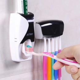 Wygodny uchwyt na szczoteczki do zębów wielofunkcyjny oszczędność miejsca szczoteczka do zębów pasta do zębów akcesoria łazienko