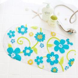 Antypoślizgowa mata do kąpieli dywanik łazienkowy z przyssawką dla dzieci toaleta wc mata dywanowa Decor