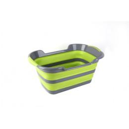 Składany wózek dla dziecka wanna z prysznicem przenośny silikonowy dla zwierząt domowych wanny akcesoria składany kosz na bieliz
