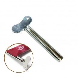 Metalowe pasty do zębów wyciskacze Tube Wringer akcesoria łazienkowe U kształt klucza pasta do zębów farba kosmetyczna wyciskani