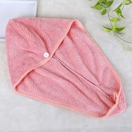 Łazienka zwiększ suche włosy Cap pałąk chłonne szybkoschnący czepek prysznicowy ręcznik do suszenia włosów włosy włókna suche wł
