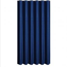 Tkanina poliestrowa zasłona prysznicowa z 12 sztuk haki wodoodporna z tworzywa sztucznego ekrany kąpielowe jednolity kolor przyj