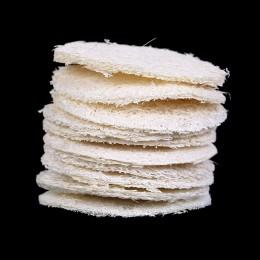10 szt. Naturalna gąbka z trukwy do kąpieli złuszczająca rękawica kąpielowa owalna ręcznik kąpielowy