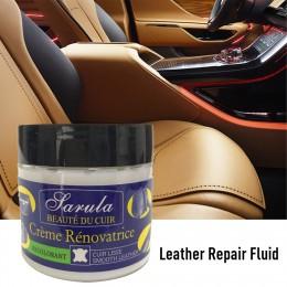 1 szt. Wielofunkcyjny skórzany remont Cleaner krem do naprawy fotelika samochodowego Sofa kolorowa pasta odnów zestaw do czyszcz