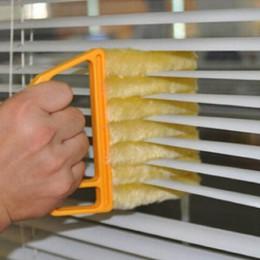 Przydatna szczotka do czyszczenia okien z mikrofibry klimatyzator miotełka do czyszczenia z zmywalnymi weneckie żaluzje ścierecz