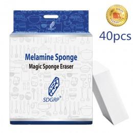 100/40/20/10 sztuk gąbka z melaminy magiczna gąbka Eraser melamina Cleaner do kuchni biuro łazienka czyszczenie Nano gąbki 10x6x