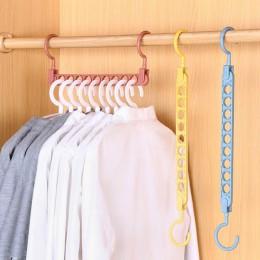 Gorąca sprzedaż wielofunkcyjny magiczny wieszak na ubrania praktyczny szafa na ubrania organizator 3D przestrzeń do oszczędzania